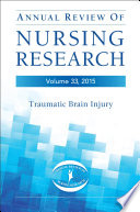 Annual Review Of Nursing Research Volume 33 2015