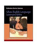 When English Language Learners Write