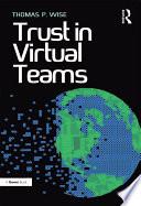 Trust In Virtual Teams