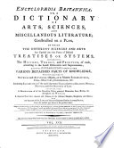 Encyclopaedia Britannica  Or  A Dictionary Of Arts  Sciences  And Miscellaneous Literature  Constructed on a Plan  By Which The Different Sciences And Arts Are Digested Into the Form of Distinct Treatises Or Systems  Comprehending The History  Theory  and Practice  of Each  According to the Latest Discoveries and Improvements  And Full Explanations Given Of The Various Detached Parts of Knowledge  Whether Relating To Natural and Artificial Objects  Or to Matters Ecclesiastical  Civil  Military  Commercial   et c  Including Elucidations of the Most Important Topics Relative to Religion  Morals  Manners  and the Oeconomy Of Life  Together With A Description of All the Countries  Cities  Principal Mountains  Seas  Rivers   et c  Throughout the World  A General History  Ancient and Modern  of the Different Empires  Kingdoms  and States  And An Account of the Lives of the Most Eminent Persons in Every Nation  from the Earliest Ages Down to the Present Times Book