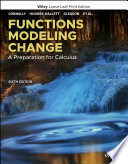 Functions Modeling Change Book