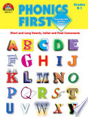 Phonics First Grades K 1 Ebook