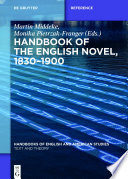 Handbook Of The English Novel 1830 1900