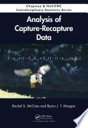 Analysis of Capture Recapture Data