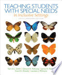 Teaching Students with Special Needs in Inclusive Settings, Fifth Canadian Edition,