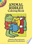 Animal Riddles Coloring Book