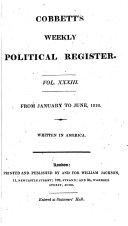 Cobbett's Weekly Political Register ebook
