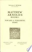 Matthew Arnold's Books