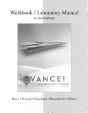 Workbook/Laboratory Manual for ¡Avance!