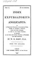 Index expurgatorius Anglicanus