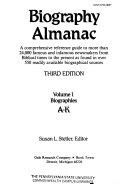 Biography Almanac