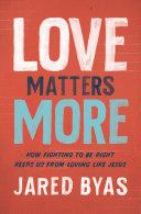 Love Matters More Pdf/ePub eBook