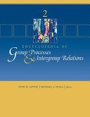 Pdf Encyclopedia of Group Processes and Intergroup Relations Telecharger