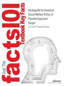 STUDYGUIDE FOR AMER SOCIAL WEL Book PDF