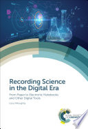 Recording Science in the Digital Era Book
