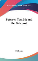 Between You Me And The Gatepost Book PDF