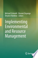 Implementing Environmental and Resource Management Book