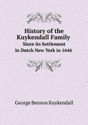 History of the Kuykendall Family