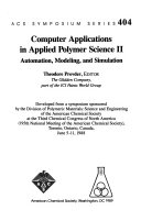 Computer Applications in Applied Polymer Science II