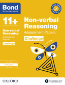 Bond 11   Bond 11  Non verbal Reasoning Challenge Assessment Papers 9 10 years