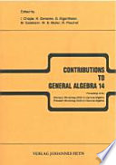 Contributions to General Algebra 14