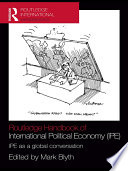 Routledge Handbook Of International Political Economy Ipe
