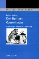 Der Berliner Gassenhauer