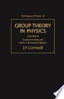 Supersymmetries and Infinite-Dimensional Algebras