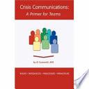 Crisis Communications Book