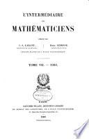 L'Intermédiaire des mathématiciens