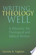 Writing Theology Well