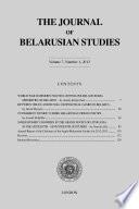 The Journal of Belarusian Studies