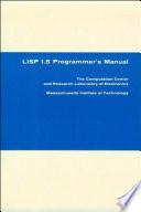 LISP 1.5 Programmer's Manual