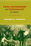 Free Expression and Democracy in America Book PDF