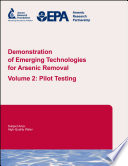 Demonstration of Emerging Technologies for Arsenic Removal  Pilot Testing Book