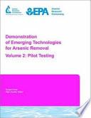 Demonstration of Emerging Technologies for Arsenic Removal: Pilot Testing