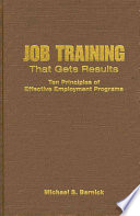 Job Training That Gets Results Book PDF