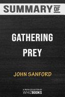 Summary of Gathering Prey  a Prey Novel