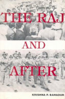 The Raj and After