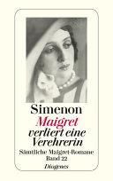 Maigret verliert eine Verehrerin