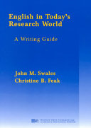 English in Today s Research World Book