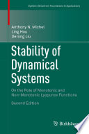 Stability of Dynamical Systems Book