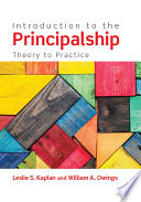 Introduction To The Principalship Book