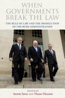 When Governments Break the Law ebook