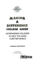 Making A Difference College Guide