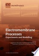 Electromembrane Processes