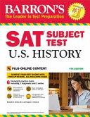 Barron s SAT Subject Test U S  History