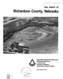 Soil survey of Richardson County, Nebraska