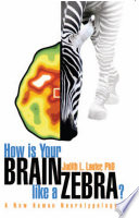 How Is Your Brain Like A Zebra  Book