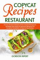 Copycat Recipes Restaurant Pdf/ePub eBook